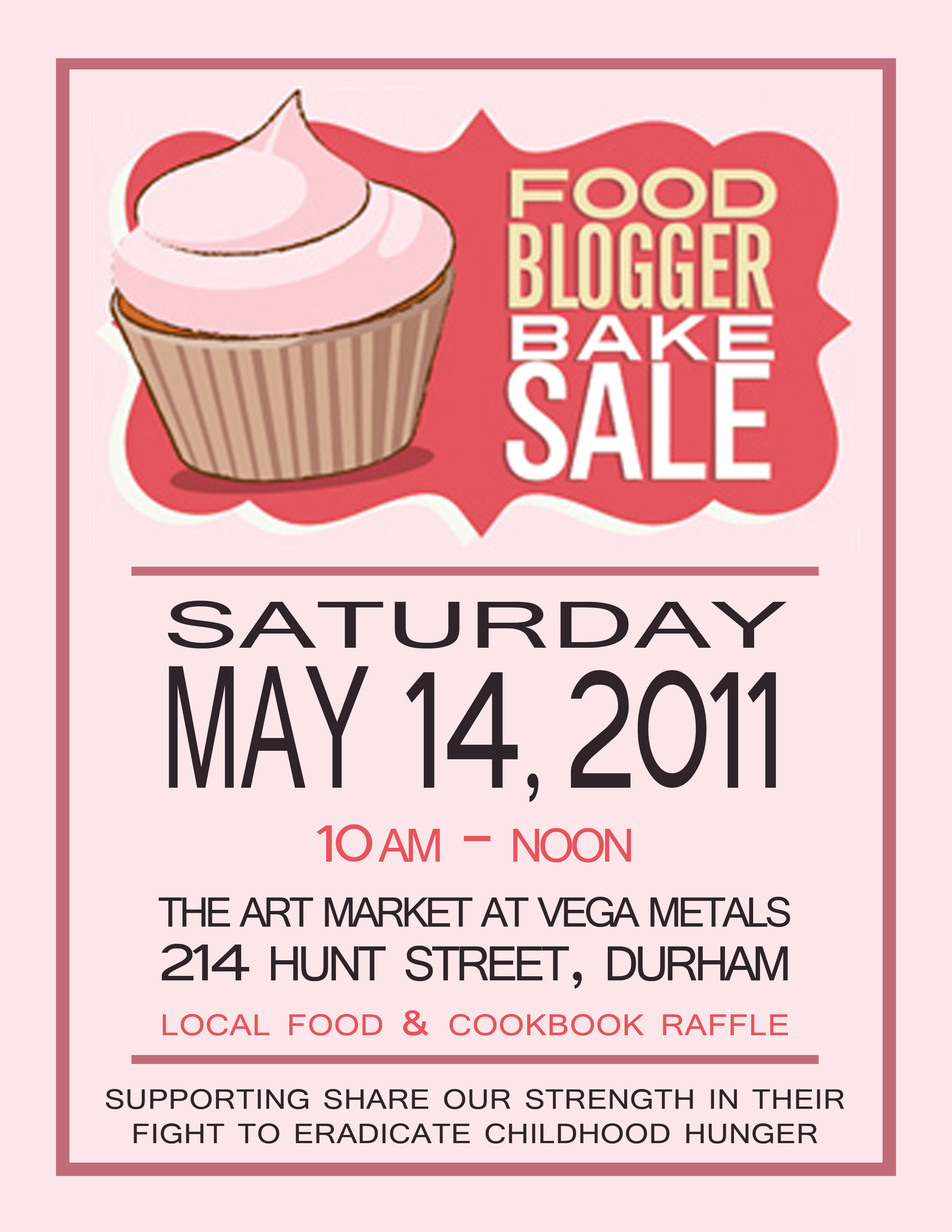Sample Bake Sale Flyers http://johannakramer.com/2011/05/