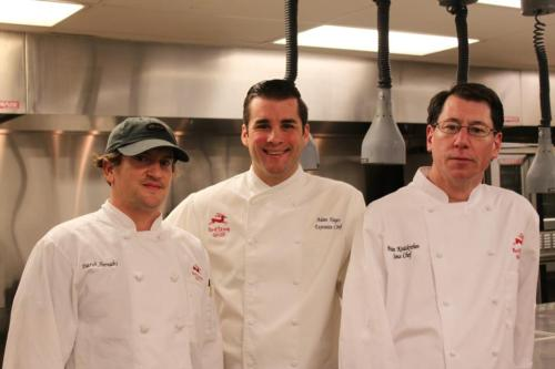 Team Adam Hayes, Red Stag Grill (Hayes, middle)
